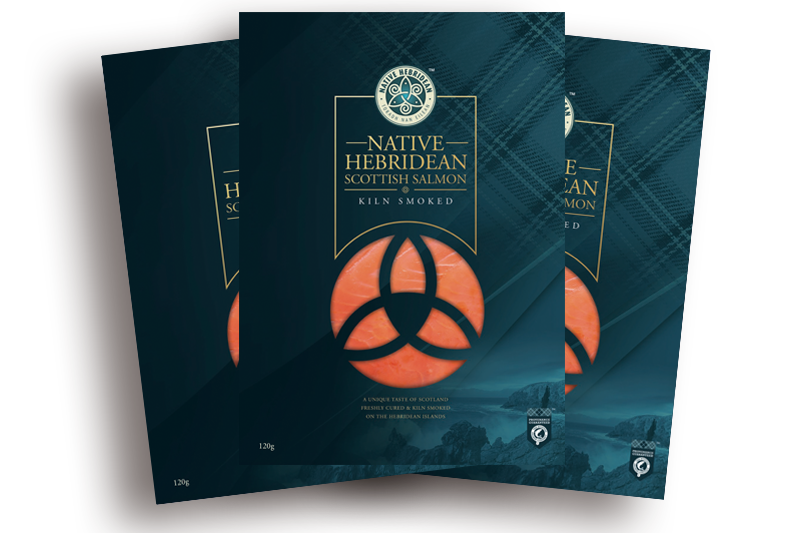 native hebridean smoked packaging